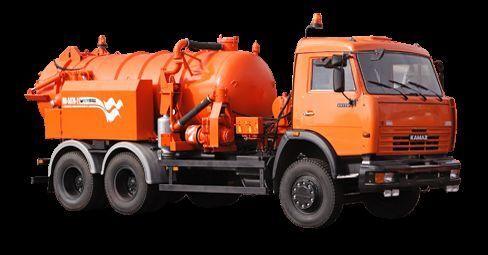 KAMAZ Ilososnaya mashina KO-507A-2 camião aspirador