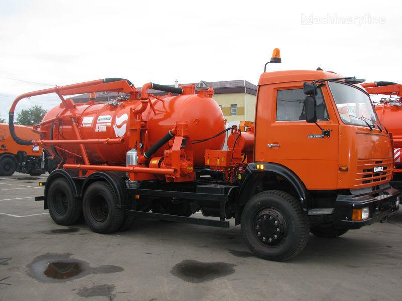 KAMAZ Ilososnaya mashina KO-507A-3 camião aspirador