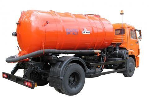 KAMAZ KO-529-13  camião aspirador