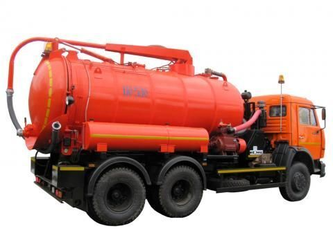 KAMAZ KO-530-01  camião aspirador