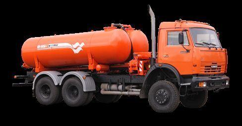 KAMAZ Vakuumnaya mashina KO-505A-1 camião aspirador