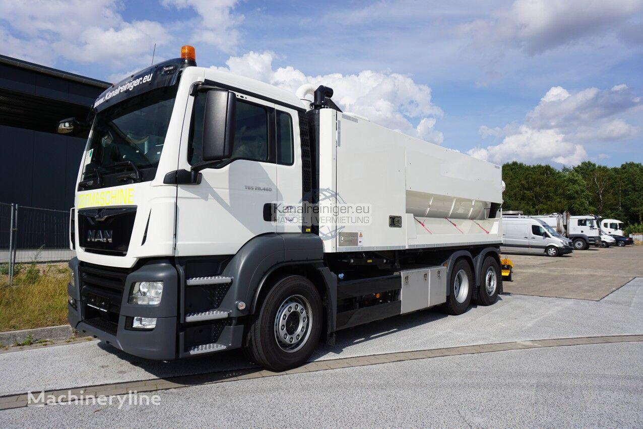 camião aspirador MAN Jurop PR 250