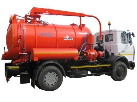 MAZ KO-530-21  camião aspirador