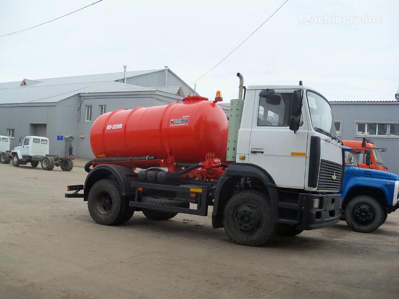 MAZ Vakuumnaya mashina KO-520M camião aspirador