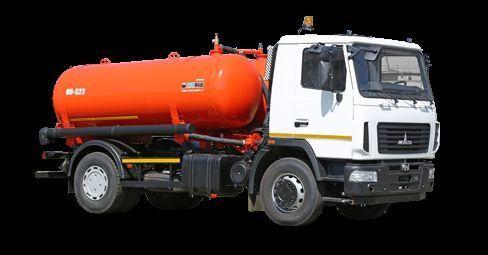 MAZ Vakuumnaya mashina KO-523 camião aspirador
