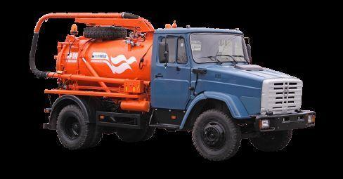 ZIL Ilososnaya mashina KO-510D camião aspirador