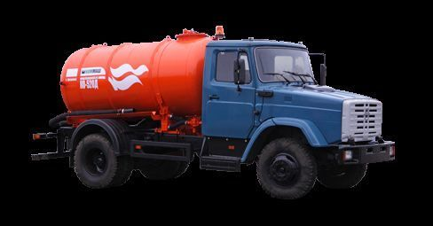 ZIL Vakuumnaya mashina KO-520 camião aspirador