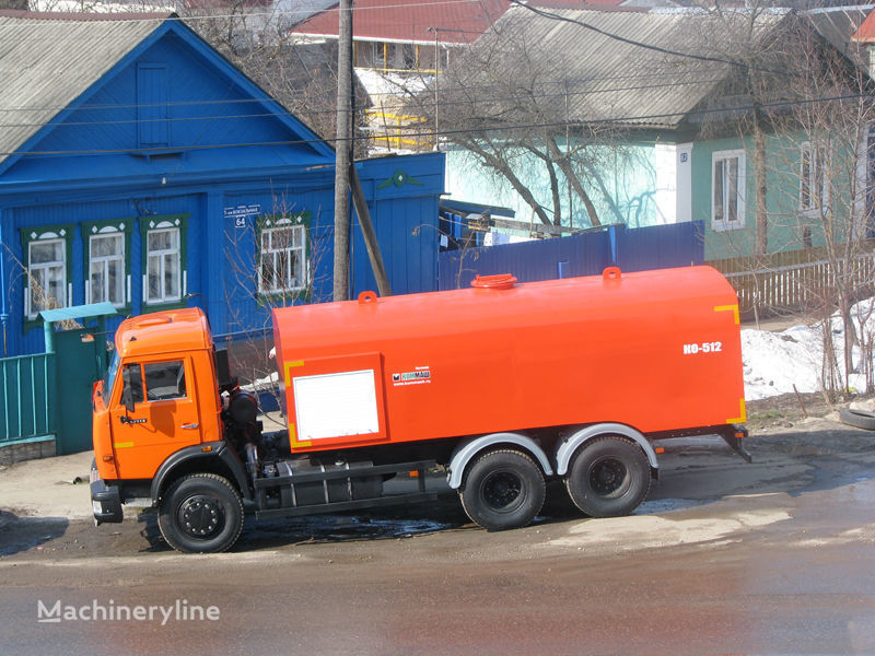 KAMAZ Kanalopromyvochnaya mashina KO-512 camião de limpeza e desobstrução de fossas