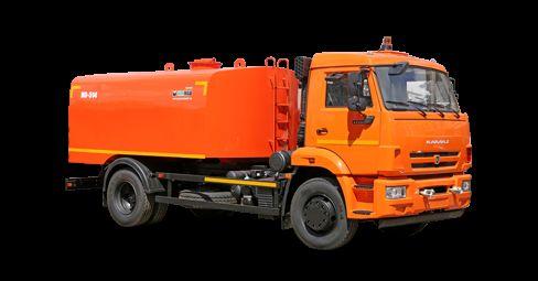 KAMAZ Kanalopromyvochnaya mashina KO-514 camião de limpeza e desobstrução de fossas
