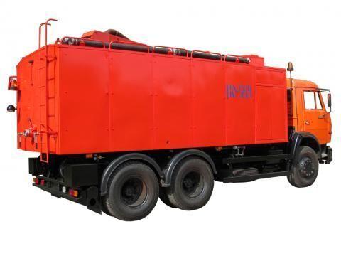 KAMAZ KO-564  camião de limpeza e desobstrução de fossas