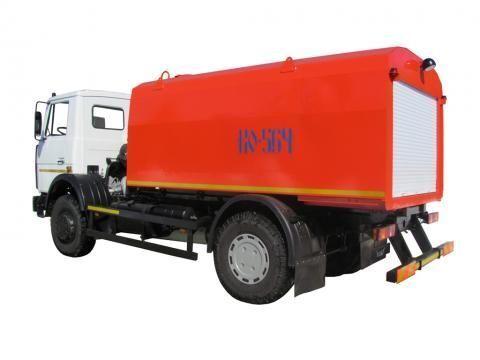 MAZ KO-564-30  camião de limpeza e desobstrução de fossas