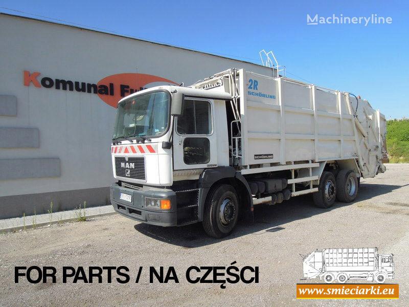 MAN 26-293 camião de lixo