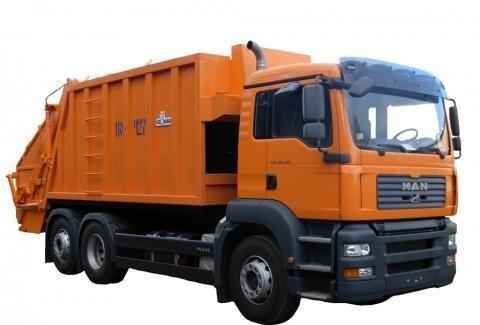 MAN KO-427-46  camião de lixo
