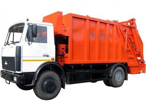 MAZ KO-427-34  camião de lixo