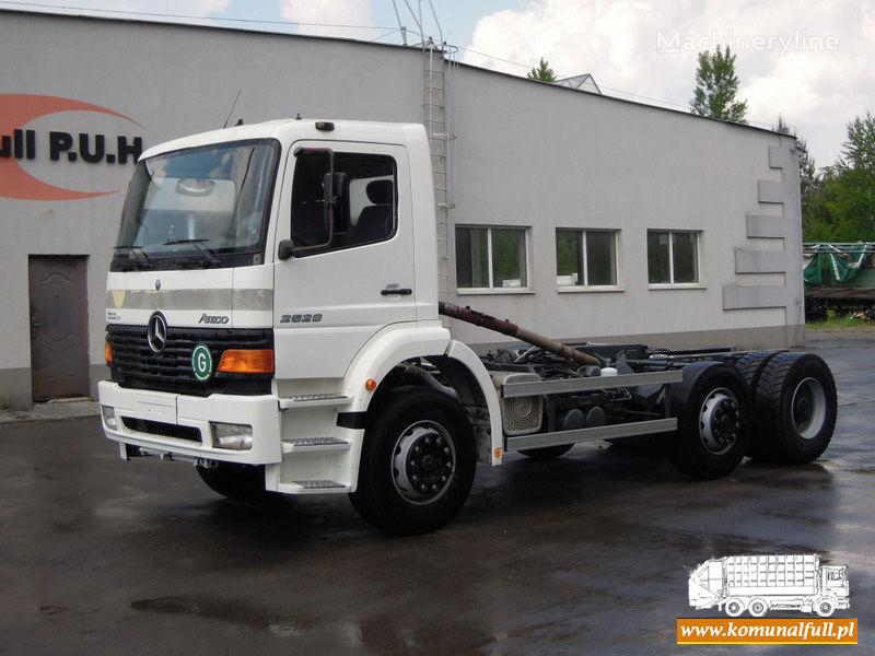 MERCEDES-BENZ Atego 2528 camião de lixo