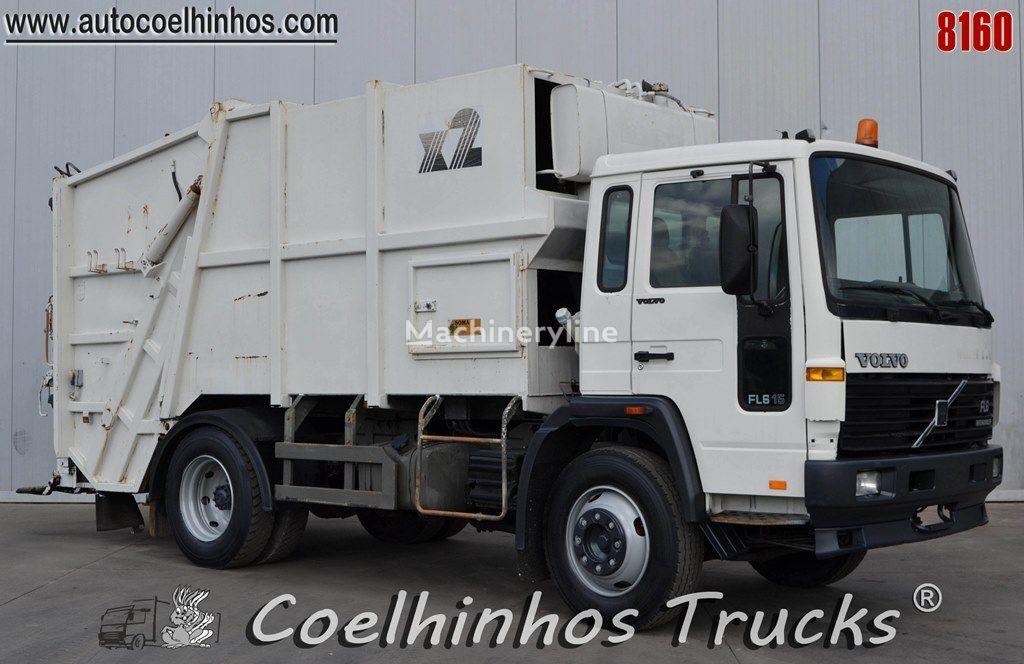 camião de lixo VOLVO FL6 180