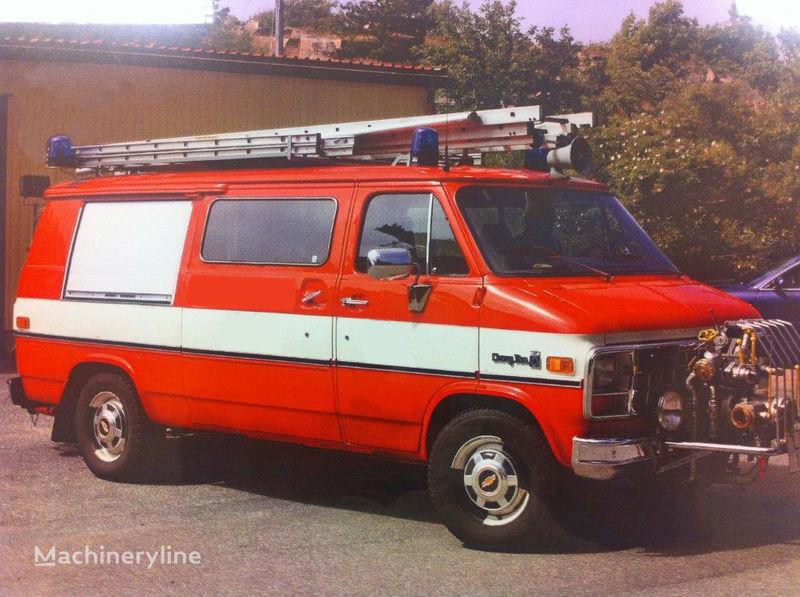 Chevrolet Van G-30 carro de bombeiros