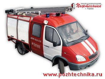 GAZ APP-0,5-2,0 Avtomobil pervoy pomoshchi     carro de bombeiros