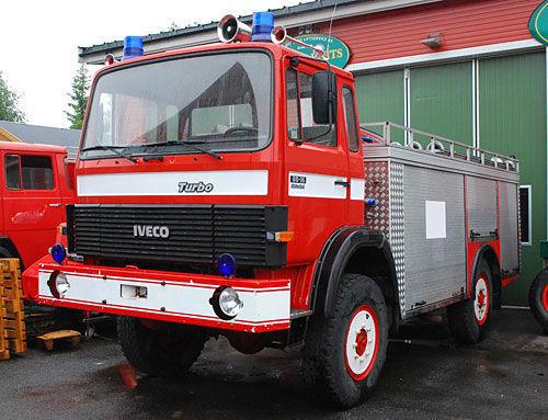 IVECO 4x4 WD carro de bombeiros