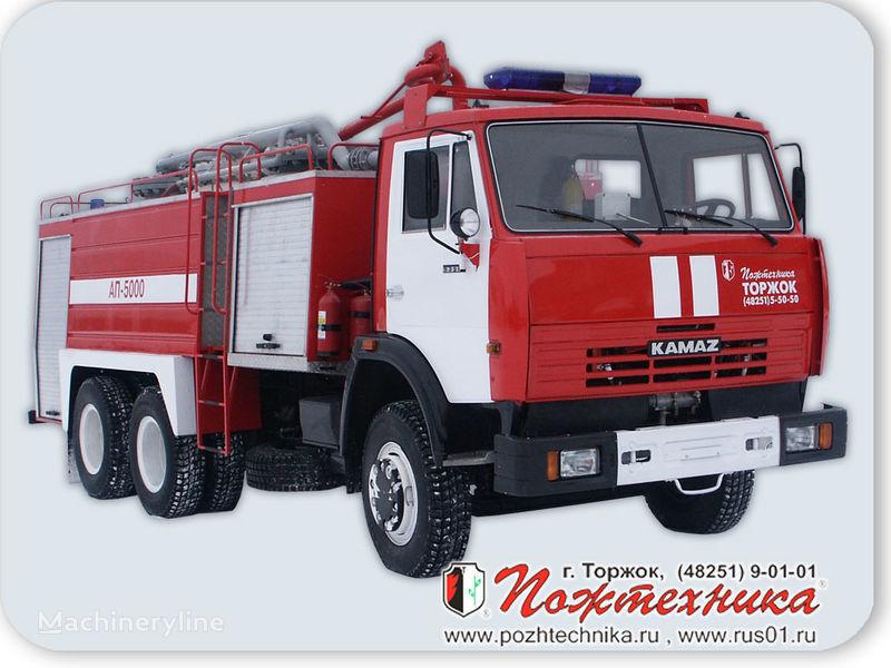 KAMAZ AP-5000 Avtomobil poroshkovogo tusheniya carro de bombeiros