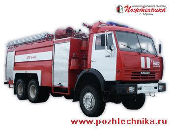 KAMAZ APT-9-40 Avtomobil pennogo tusheniya pozharnyy     carro de bombeiros