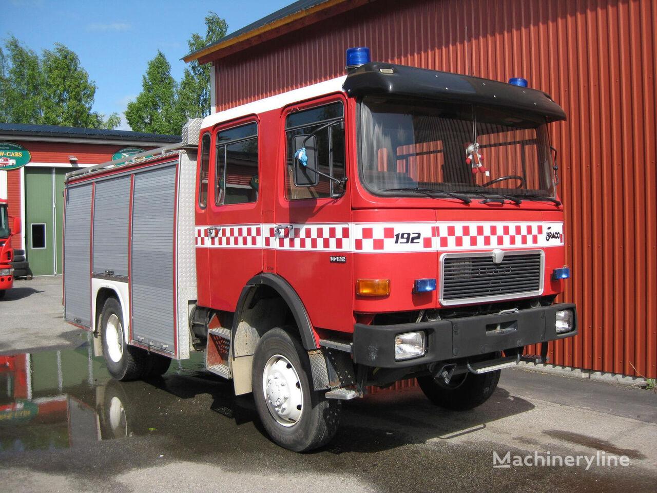 MAN 14-192, 4x4 WD carro de bombeiros