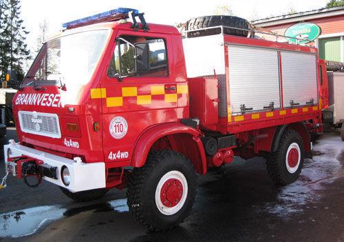 MAN 8.150, 4x4 WD carro de bombeiros