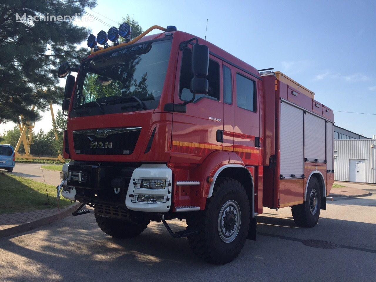 MAN TGM 13.290 Einzelbereifung 4x4 carro de bombeiros novo