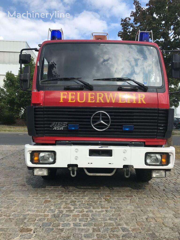 carro de bombeiros MERCEDES-BENZ TRO-TLF, 250 Kg Pulver und 1200 Liter Wassertank