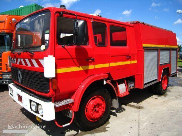 RENAULT G-191 11 PLACE WATER PUMP carro de bombeiros
