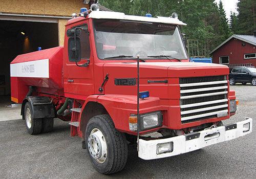 SCANIA T-112H carro de bombeiros