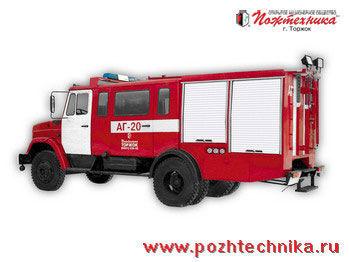 ZIL  AG-20 Avtomobil gazodymozashchitnoy sluzhby carro de bombeiros