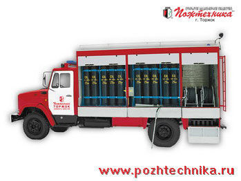 ZIL AGT-1 Avtomobil gazovogo tusheniya    carro de bombeiros