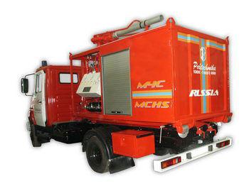 ZIL PSK Pozharno-spasatelnyy kompleks s konteynerami tyazhelogo tipa carro de bombeiros