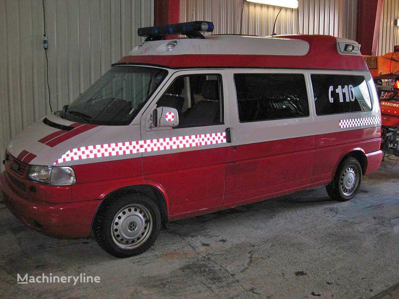 volkswagen T-4 carro de bombeiros