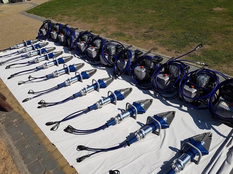 equipamento de combate a incêndios LUKAS hydraulik Jaws of life combi cutter sc357 GO3T