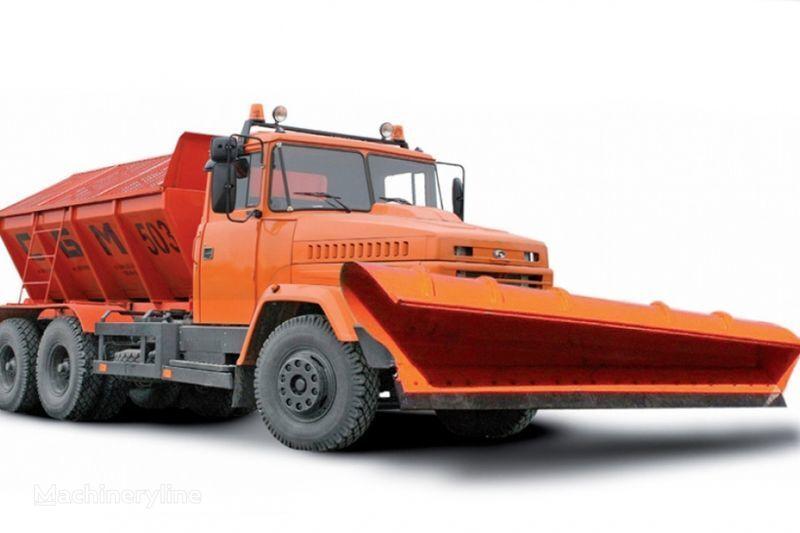 KRAZ 65055 MDKZ-30 espalhador de areia
