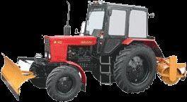 MTZ 82 MK (otval+shchetka) limpa-neve