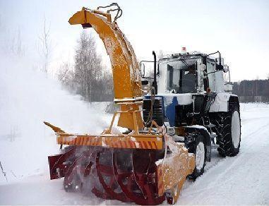 MTZ OFR- 200  limpa-neve novo