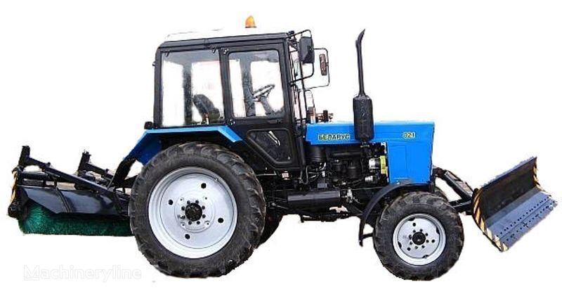 MTZ BAM-2 (otval+shchetka)na traktorah MTZ outros maquinaria municipal